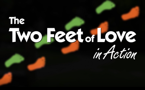 Two feet of Love in Action / Los dos pies del amor en acción